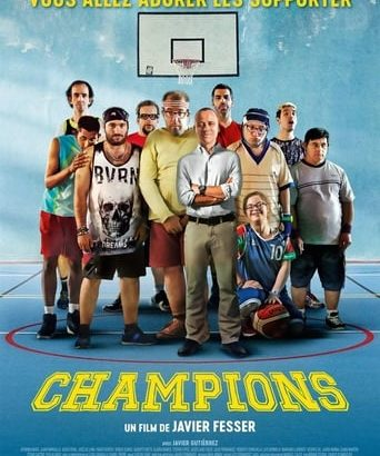 """Affiche du film """"Champions"""""""
