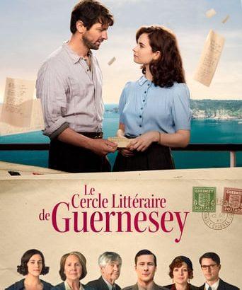 """Affiche du film """"Le Cercle littéraire de Guernesey"""""""