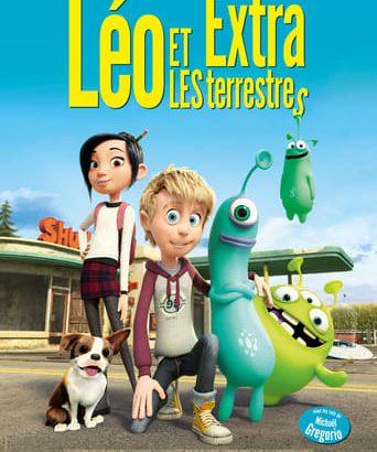 """Affiche du film """"Léo et les extra-terrestres"""""""