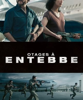 "Affiche du film ""Otages à Entebbe"""