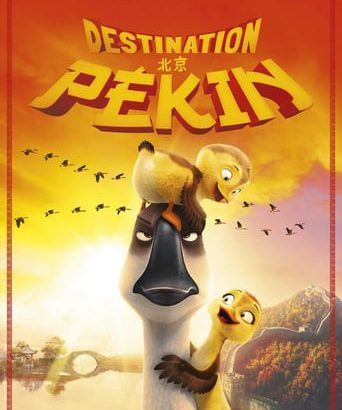 "Affiche du film ""Destination Pékin !"""