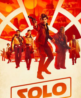 "Affiche du film ""Solo: A Star Wars Story"""