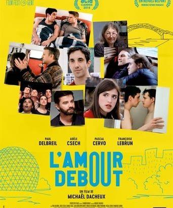 """Affiche du film """"L'amour debout"""""""