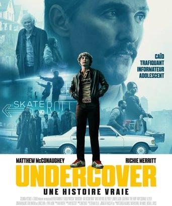 """Affiche du film """"Undercover - Une histoire vraie"""""""