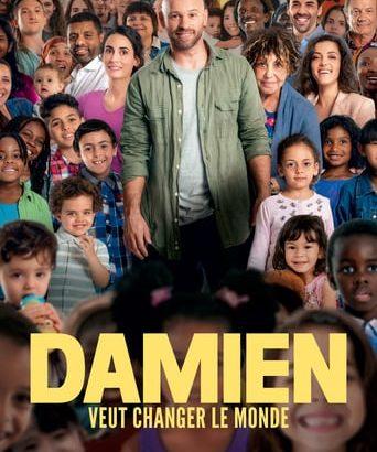 """Affiche du film """"Damien veut changer le monde"""""""