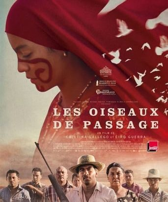 """Affiche du film """"Les Oiseaux de passage"""""""