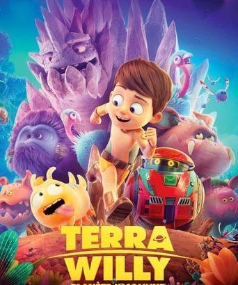 """Affiche du film """"Terra Willy, planète inconnue"""""""