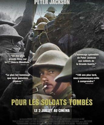 """Affiche du film """"Pour les soldats tombés"""""""