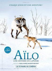 """Affiche du film """"Aïlo : Une odyssée en Laponie"""""""