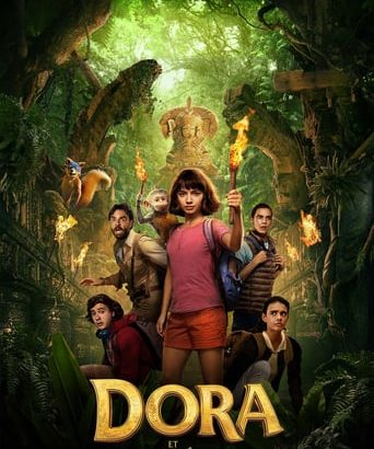 """Affiche du film """"Dora et la Cité perdue"""""""