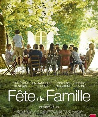 """Affiche du film """"Fête de famille"""""""