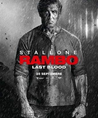 "Affiche du film ""Rambo: Last Blood"""