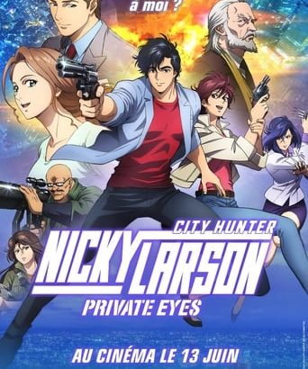 "Affiche du film ""Nicky Larson : Private Eyes"""