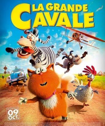 """Affiche du film """"La Grande Cavale"""""""