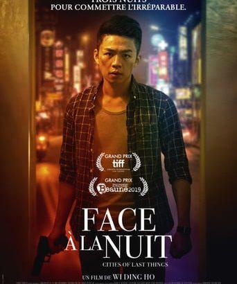 """Affiche du film """"Face à la nuit"""""""