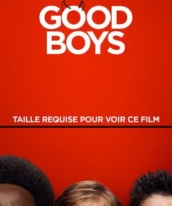 "Affiche du film ""Good Boys"""