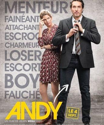 "Affiche du film ""Andy"""