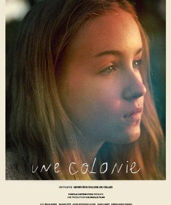 """Affiche du film """"Une colonie"""""""