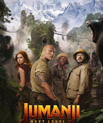"Affiche du film ""Jumanji : Next Level"""