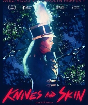 "Affiche du film ""Knives and Skin"""